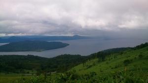 美幌峠から屈斜路湖を眺める3