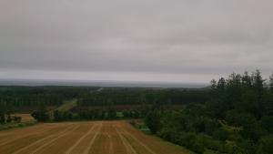 天まで続く道、展望塔からの眺望