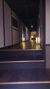別館清山荘 館内渡り廊下
