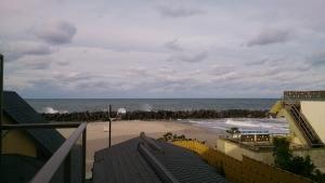 海色・湯の宿 松月、ツインベッド洋室からの眺望1