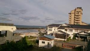 海色・湯の宿 松月、ツインベッド洋室からの眺望2