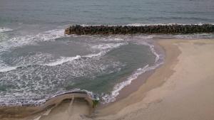 海色・湯の宿 松月、大浴場・露天風呂からの眺め2.