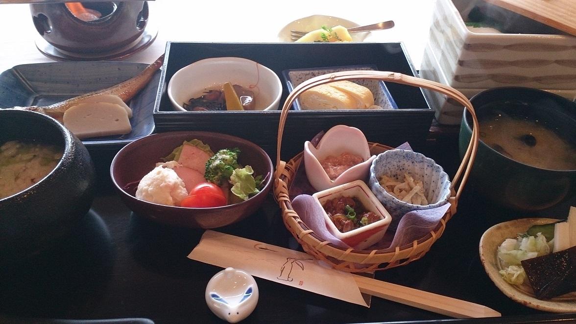 海色 湯の宿 松月、朝食