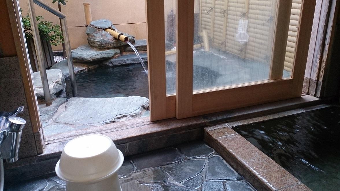 海色 湯の宿 松月、貸切風呂2