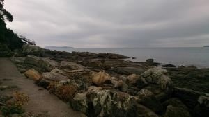 神崎鼻、海岸遊歩道1