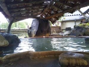 アーデンホテル阿蘇、「どんどこ湯」。露天風呂2