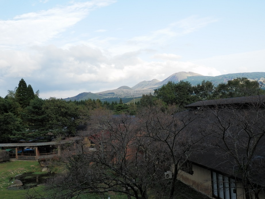 アーデンホテル阿蘇、部屋からの眺望2