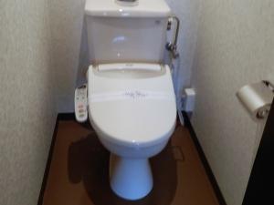 アーデンホテル阿蘇、部屋、独立式トイレ。