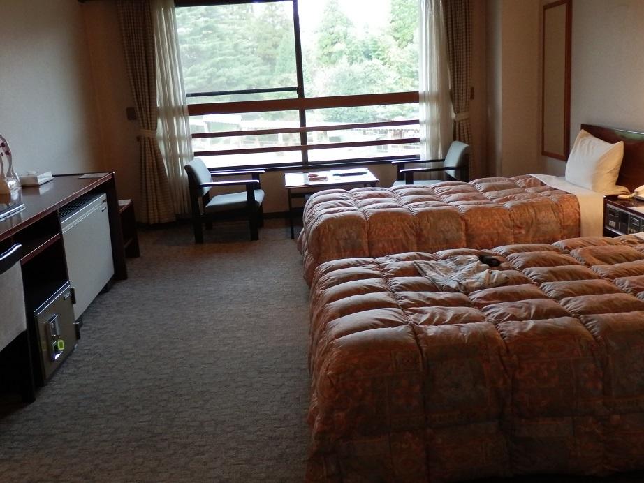 アーデンホテル阿蘇、ツインルーム。