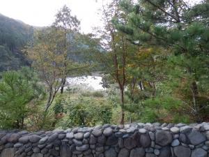アーデンホテル阿蘇、大浴場、露天風呂からの眺望
