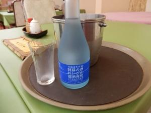 アーデンホテル阿蘇、夕食、地酒冷酒・阿蘇の酒「れいざん」