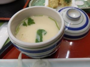 アーデンホテル阿蘇、夕食料理、茶碗蒸し