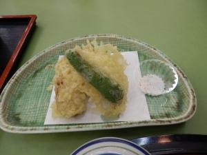 アーデンホテル阿蘇、夕食料理、天ぷら