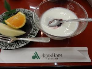 アーデンホテル阿蘇、夕食料理、デザート