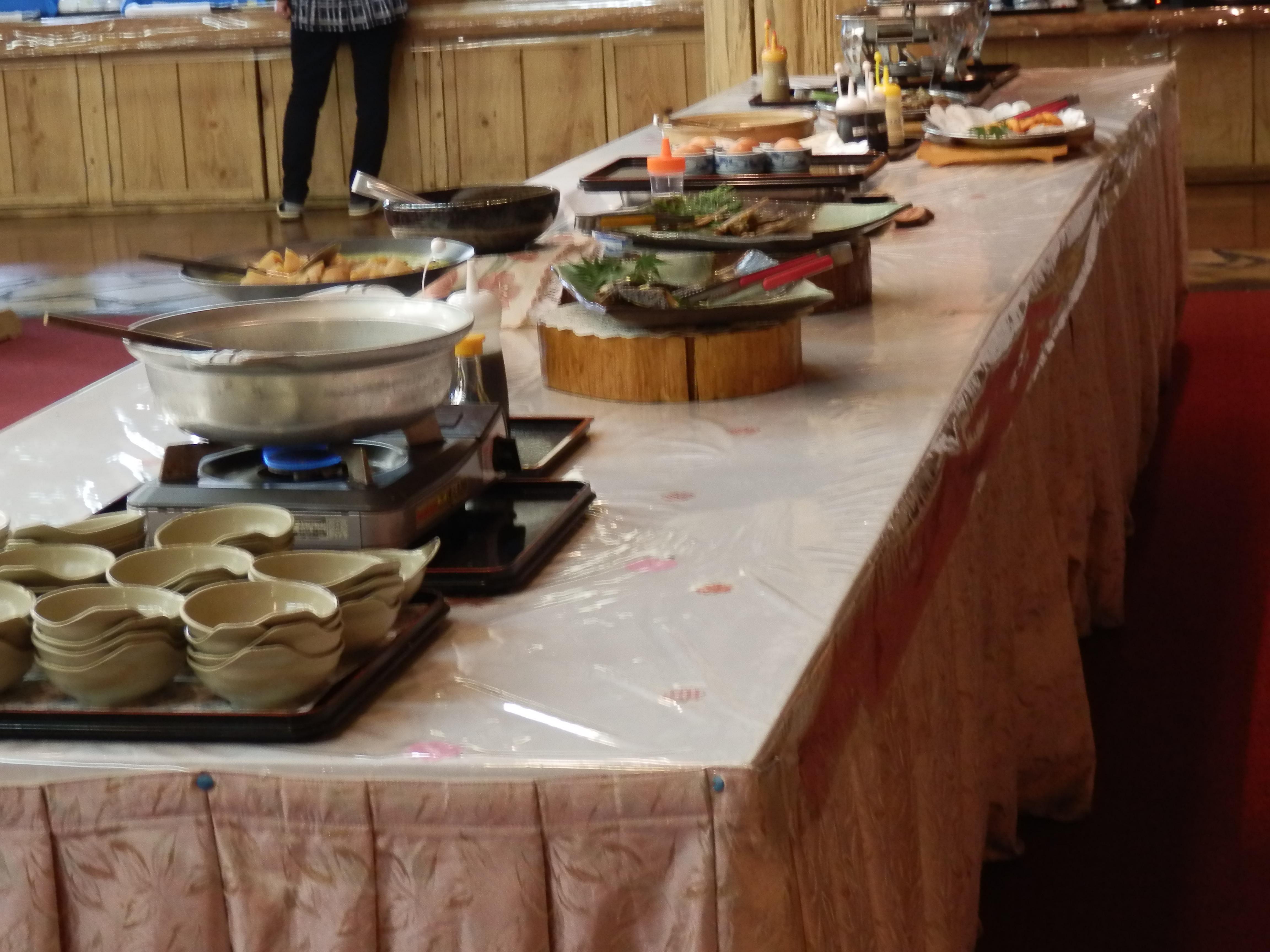 アーデンホテル阿蘇、朝食バイキング
