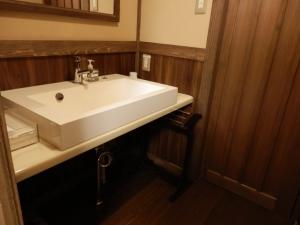 御客屋、和室、洗面台。