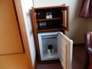 阿蘇プラザホテル、部屋、冷蔵庫