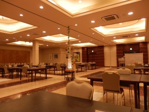 阿蘇プラザホテル、食事場所