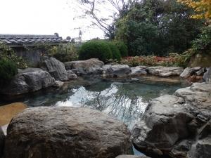 阿蘇プラザホテル、大浴場、庭園露天風呂2