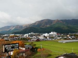 阿蘇プラザホテル、部屋からの眺望1