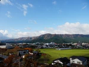 阿蘇プラザホテル、部屋からの眺望2
