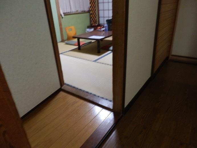 つるや隠宅、部屋、玄関。