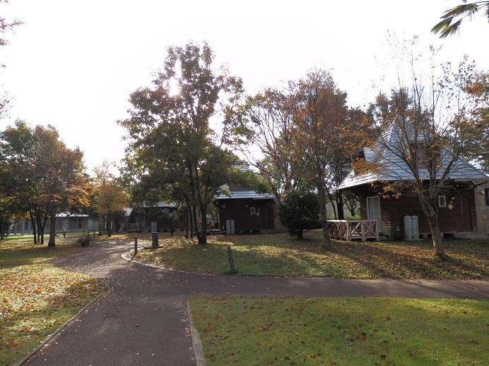 リバーサイドパーク七城、コテージエリア。