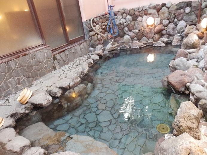 別府湯の宿ゆるり、露天風呂1