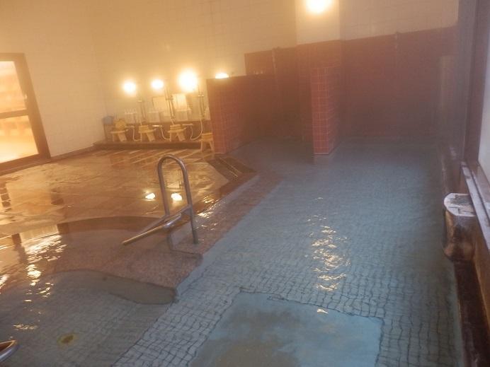 別府湯の宿ゆるり、大浴場内湯2.