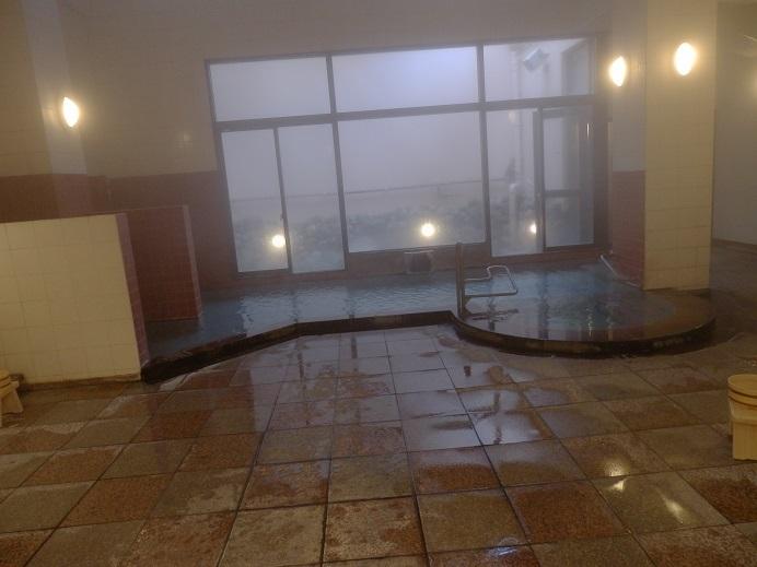 別府湯の宿ゆるり、大浴場内湯1