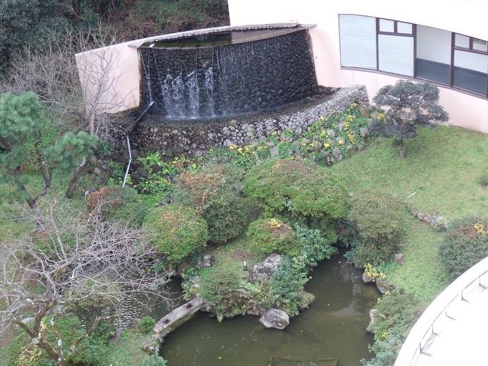 別府湯の宿ゆるり、部屋からの眺望2
