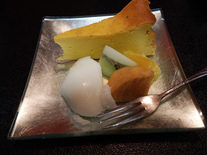 御宿友美荘、夕食、デザート。