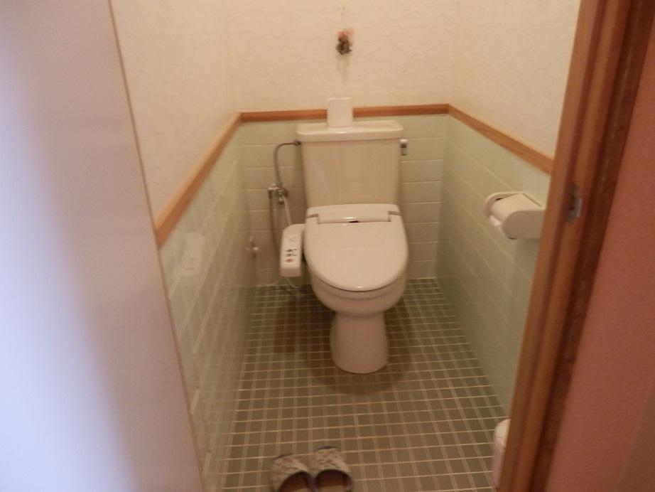 おおぎ荘、トイレ。
