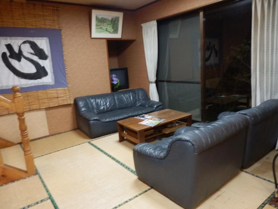 おおぎ荘、ソファースペース。
