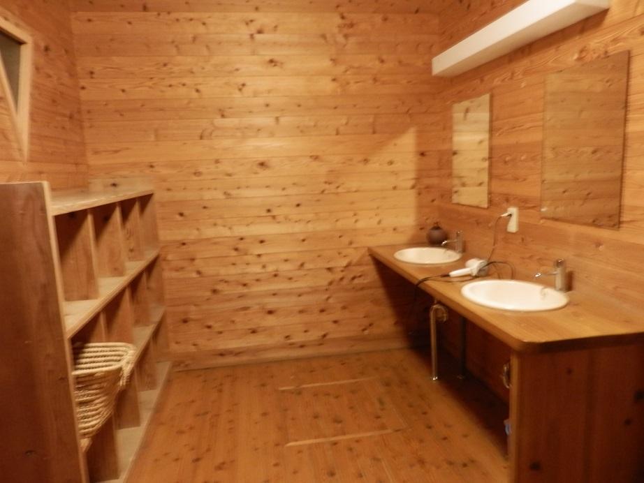おおぎ荘、大浴場、脱衣場。