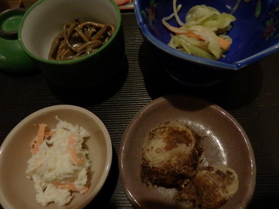 おおぎ荘、夕食2