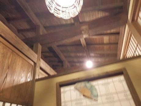 おおぎ荘、食事場所、テーブル2