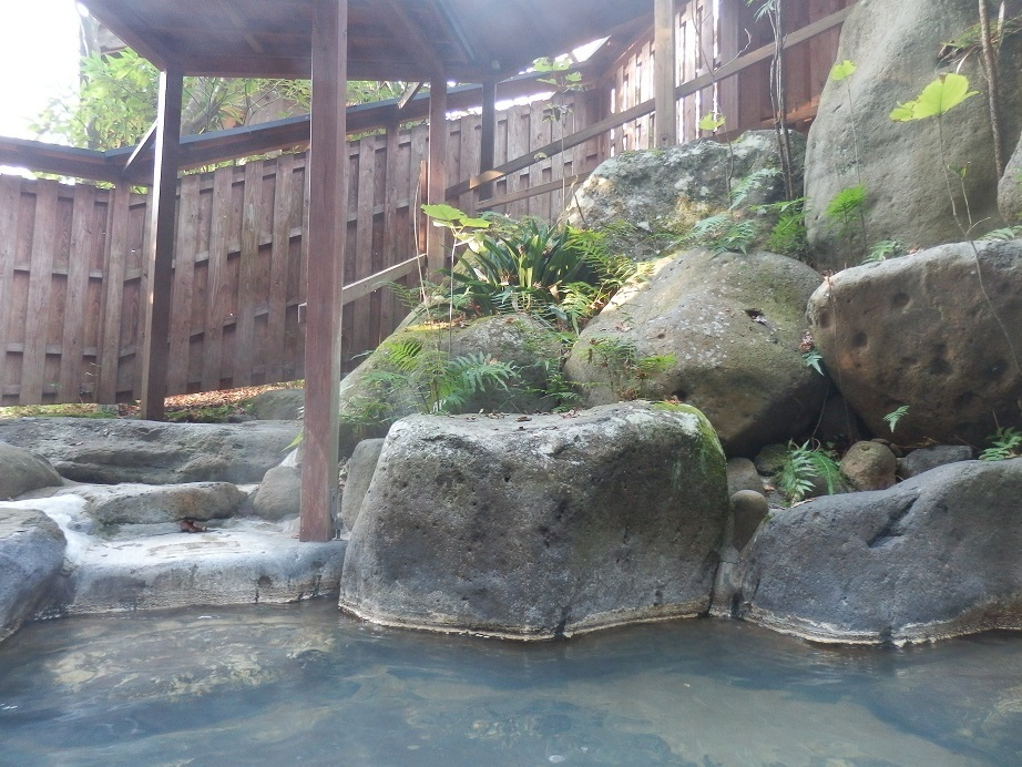 おおぎ荘、大浴場、露天風呂3