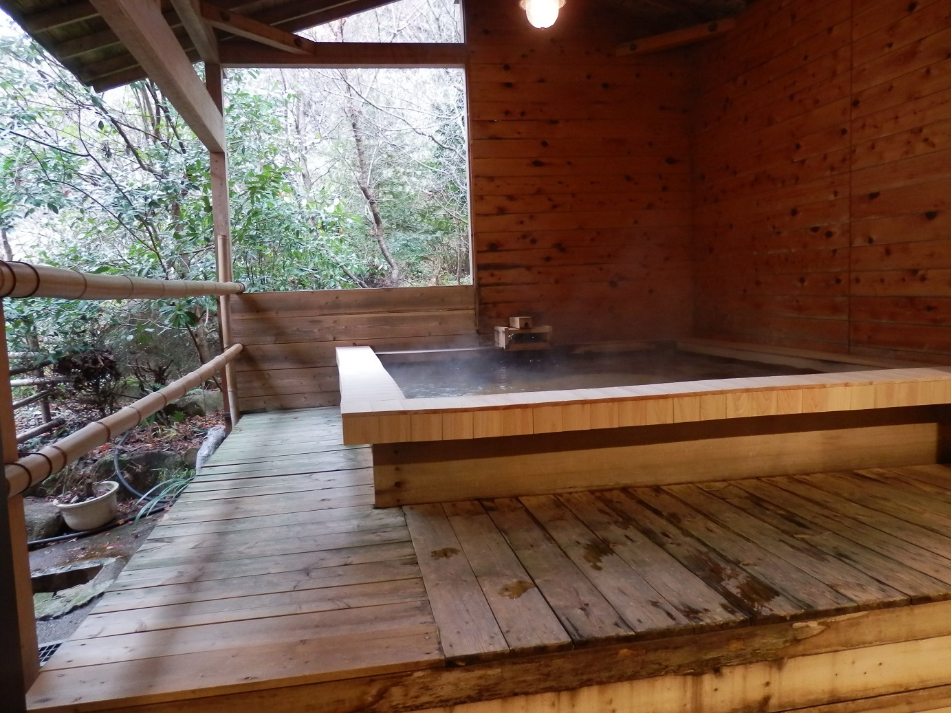 大浴場、露天風呂。