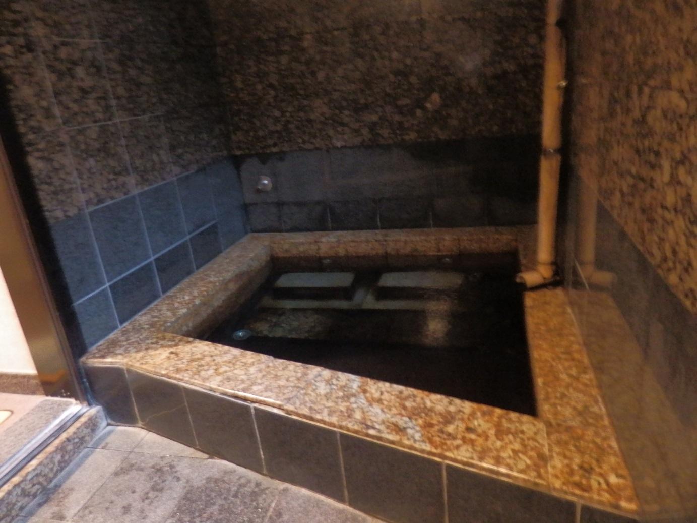 貸切風呂、内風呂。