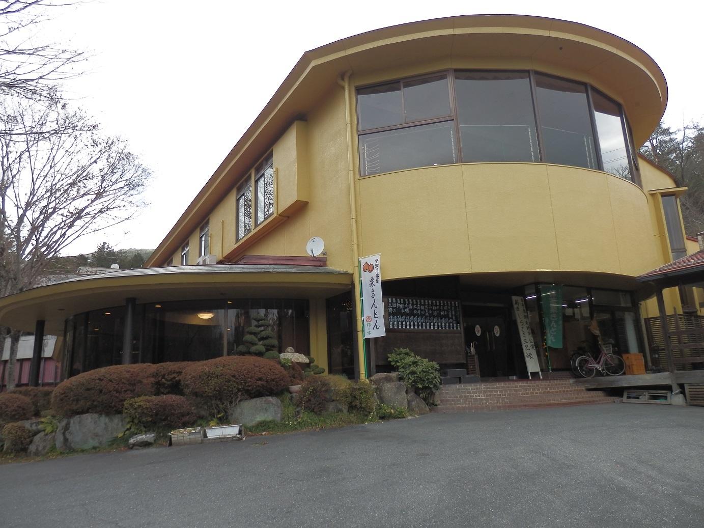 岩寿荘、外観。