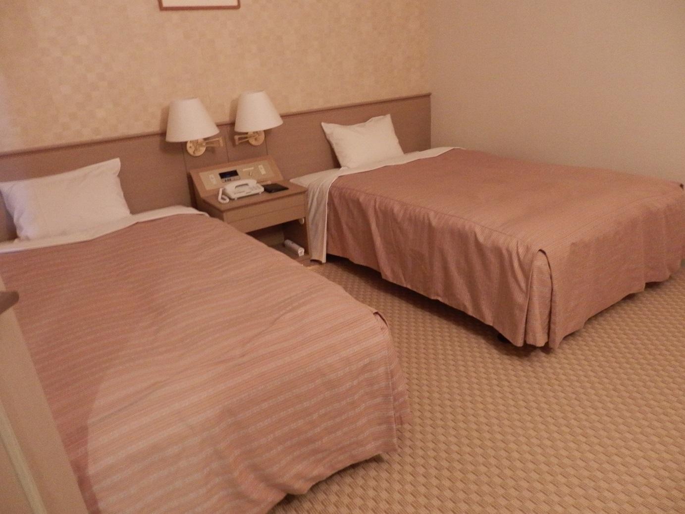 ホテルアンビエント蓼科、ベッドルーム。