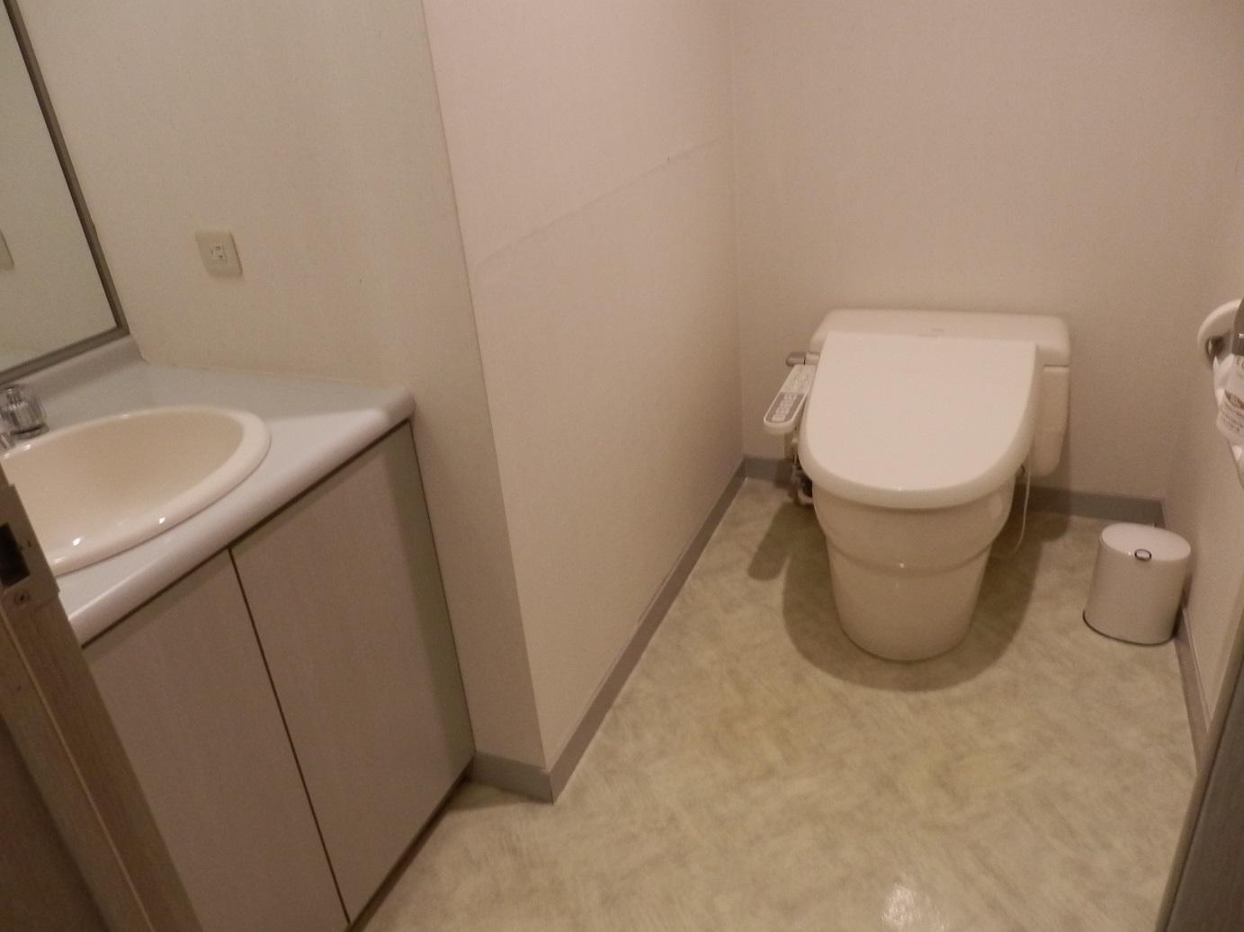 ホテルアンビエント蓼科、トイレ。