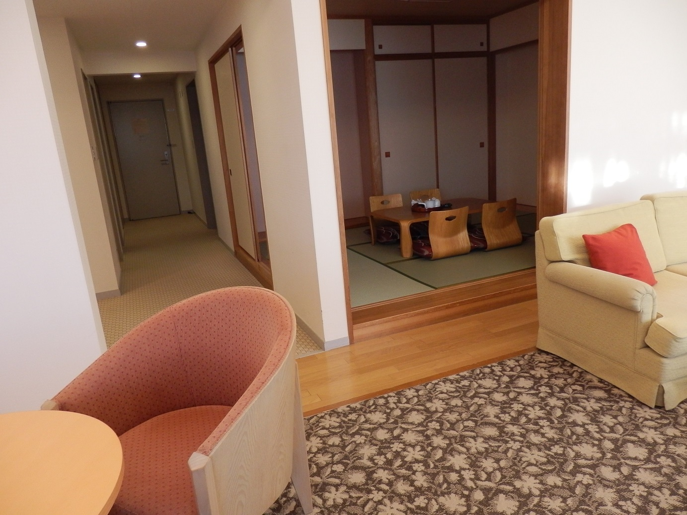 ホテルアンビエント蓼科、室内。