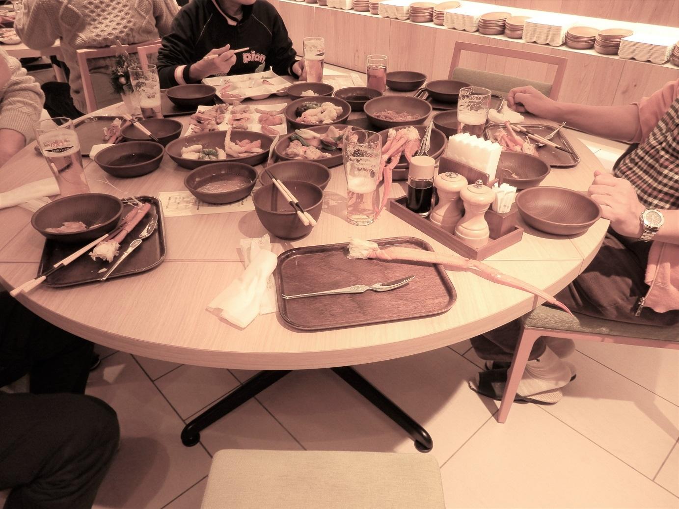ホテルアンビエント蓼科、夕食。