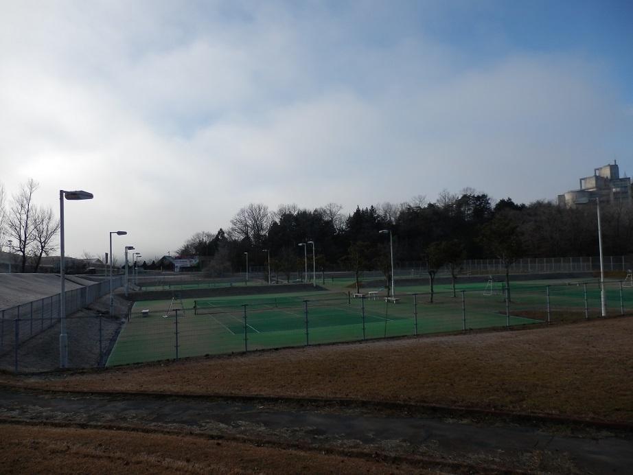 佐用スターリゾート、テニスコート。