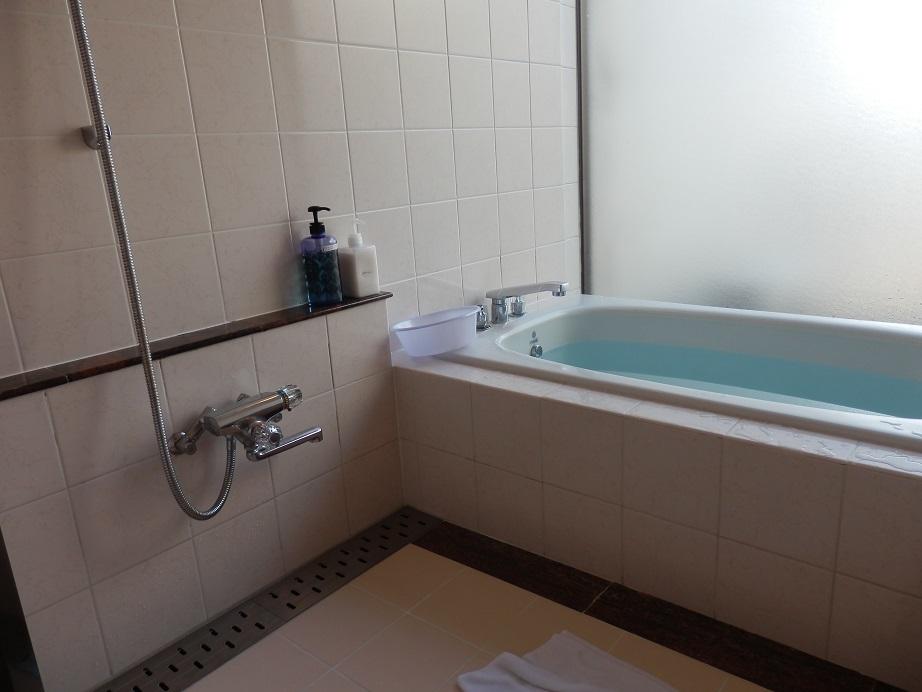 佐用スターリゾート、部屋、バスルーム。