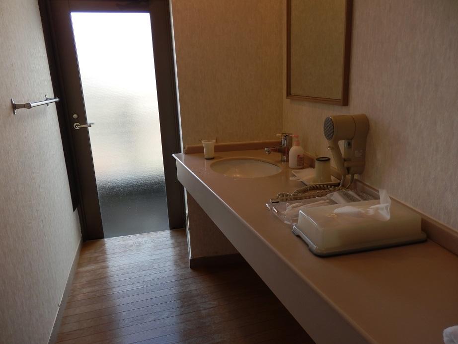 佐用スターリゾート、部屋、洗面スペース。