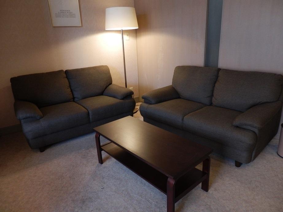 佐用スターリゾート、部屋、ソファー。