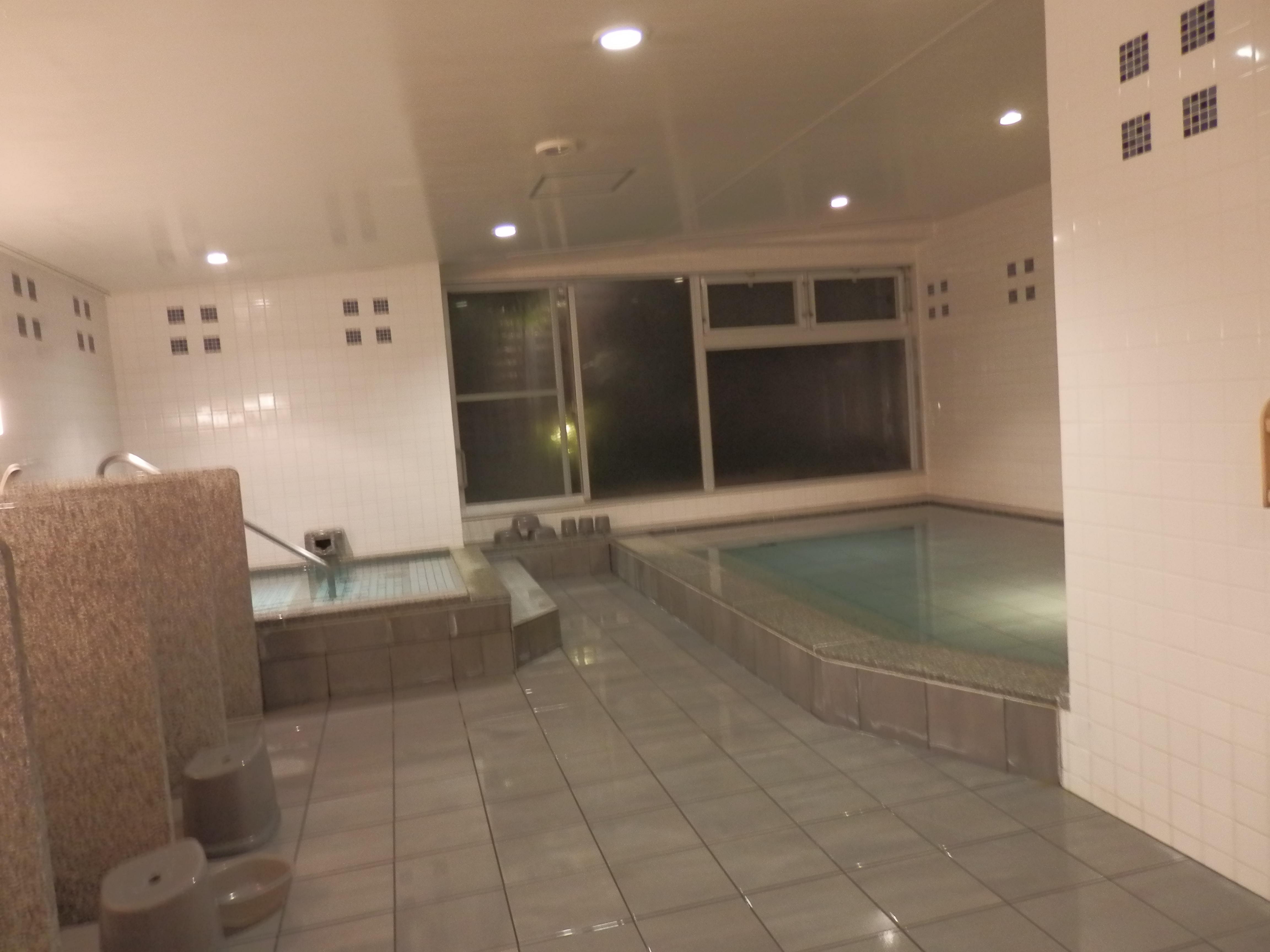 大浴場、内湯。